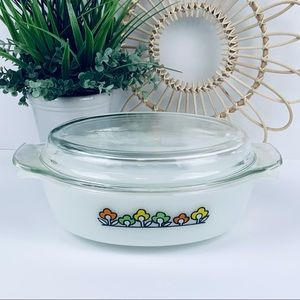 Vintage | Anchor Hocking Summerfield Casserole